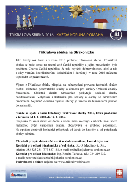TKS 2016 informace a kontakty