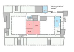 plánky budovy Magdalény Rettigové 4
