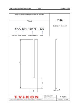 YHA. 30/4- 150(75) - 330 - Tvikon