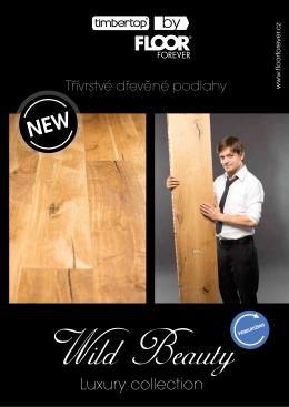 Akční katalog dřevěných podlah Timber Top Wild