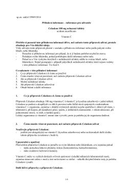 PIL Celaskon 100 ochucené tablety