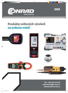 2015 Produkty světových výrobců na jednom místě