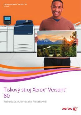 Tiskový stroj Xerox® Versant® 80