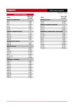 Limit ceny za opravu = maximální cena opravy 74,3kB