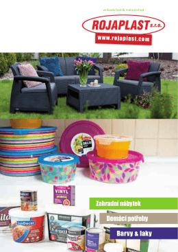 Barvy & laky Domácí potřeby
