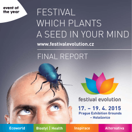 FESTIVAL WHICH PLANTS A SEED IN YOUR