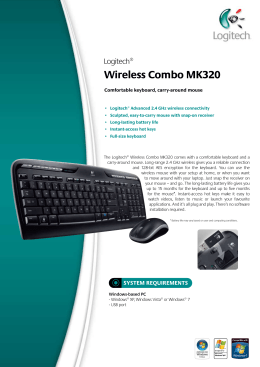 Wireless Combo MK320