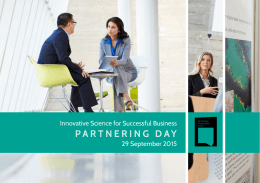 PARTNERING DAY