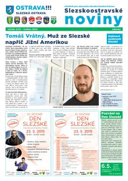 květen - Slezská Ostrava