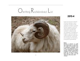 Orl-2015-4 - Otevřený Rozšalovávací List