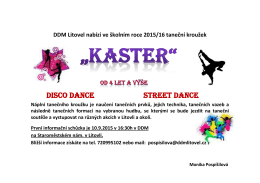 disco dance street dance