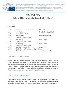 Program DEN EVROPY Plzeň(pdf479KB)