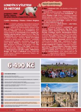 6 490 Kč - CK Scholare