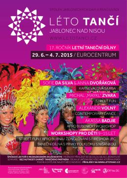 Léto Tančí 2015 – 29/6–4/7/2015