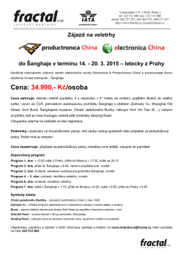 Electronica, Productronica China 2015_Šanghaj