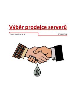 Výběr prodejce serverů