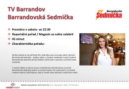 Barrandovská Sedmička Sobota 22:30 (stopáž 40