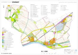Územní plán Vraňany - Upravený návrh územního plánu pro
