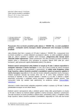 Integrovaný plán rozvoje území Jihlavské sídelní aglomerace