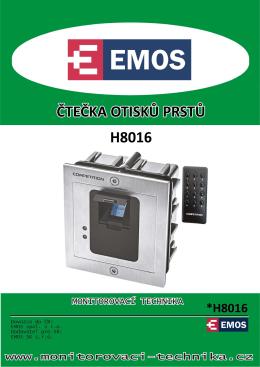 H8016 - čtečka otisků