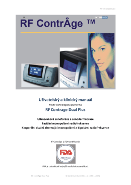 RF Contrage Dual Plus