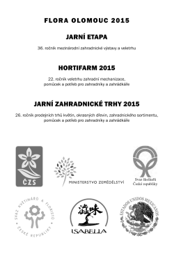 katalog_JARO_2015_blok_NAHLED - Výstaviště Flora Olomouc, as