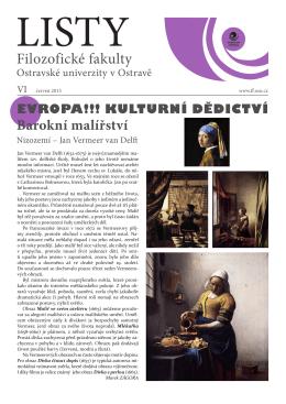 červen - Filozofická fakulta - Ostravská univerzita v Ostravě