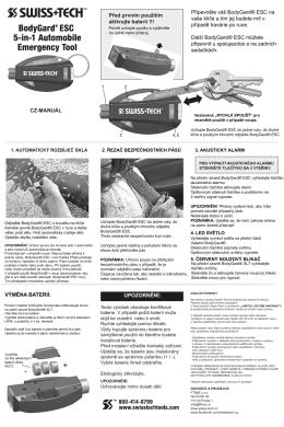 CZ-Manuál-BodyGard® ESC 5-in-1