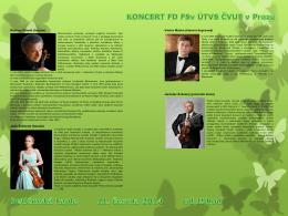 Rodney Friend (housle) Julie Svěcená (housle)