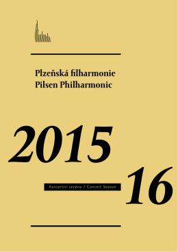 Koncertní sezóna 2015/2016