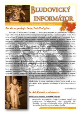 Odkaz na Bludovický informátor zde (kliknout)