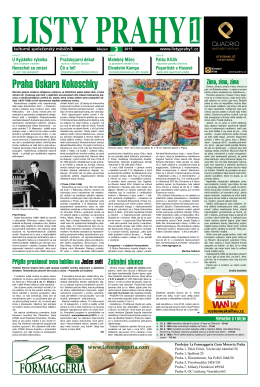 Listy Prahy 1