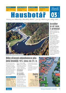 hausbotář 3 - Hausbóty Bockl