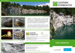 Lom Jasenice - geopark podbeskydí