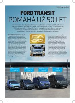 Zde najdete přílohu Ford Transit z časopisu Automobil.