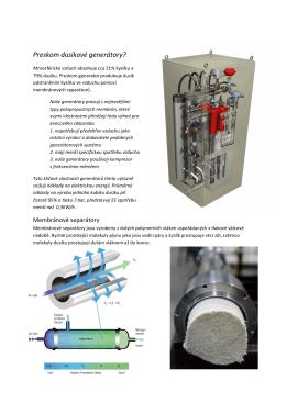 Preskom dusíkové generátory?