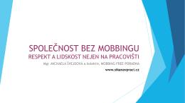 Společnost bez mobbingu