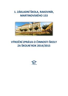 Výroční práva - 1. ZŠ Rakovník, Martinovského 153