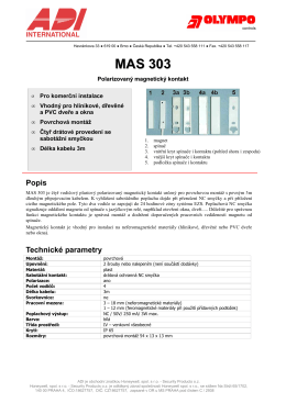 MAS 303 - ADI Global Distribution