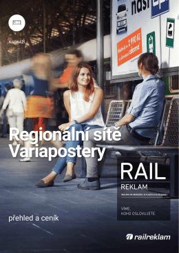 Regionální sítě Variapostery
