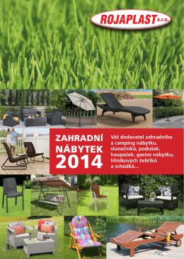 Katalog zahradního nábytku ROJAPLAST 2015 - Nábytek