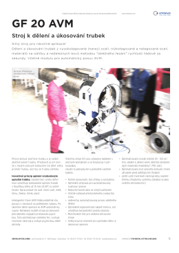 GF 20 AVM - Orbitalum