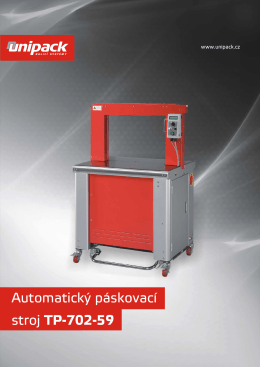 Automatický páskovací stroj TP-702-59