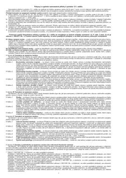 Pokyny k vyplnění sam. přílohy k položce 12