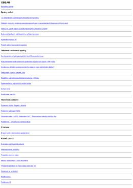 Zprávy z akcí Odborné a nálezové zprávy Historické podzemí Z