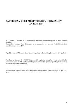 ZÁvěrečný účet Městyse 2014 _1_