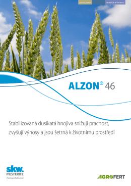 ALZON®46 - SKW Stickstoffwerke Piesteritz GmbH