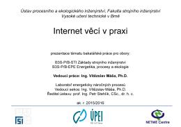Internet věcí v praxi