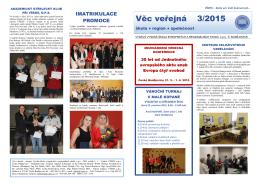 Zpravodaj Věc veřejná 2015/3