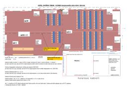 Plátek kongresového sálu (A+B+C)